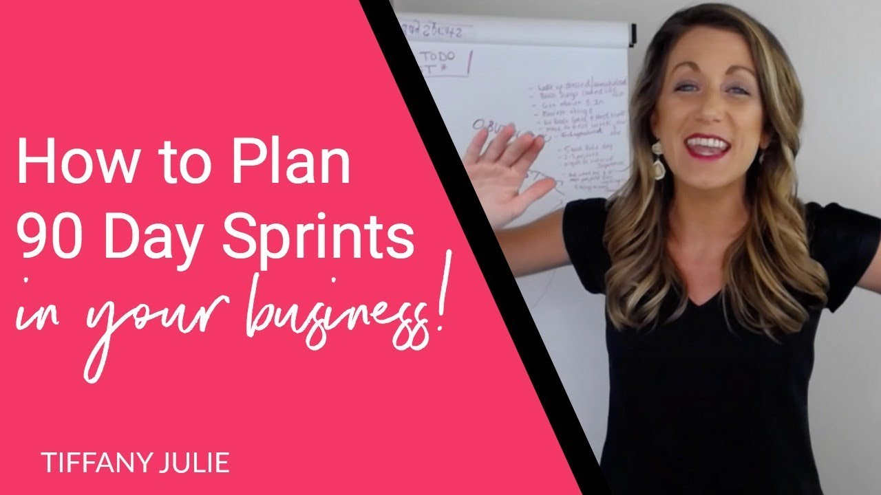 Scale Bigger & Faster With 90 Day Business Sprints