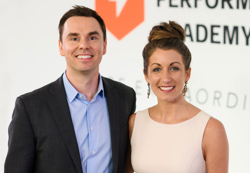 Brendon Burchard with Tiffany Julie